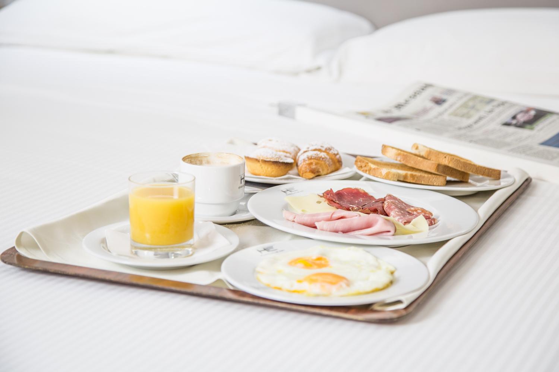 Hotel Executive Inn sana, ricca e gustosa colazione